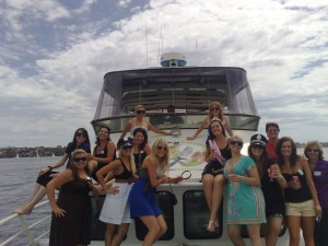 Hens night party boat cruise Perth
